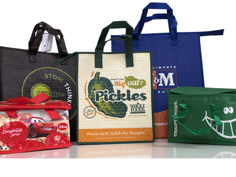 Insulated Bags Are Made From Polyfabric With A Dual Layer Liner Designed To Keep Your Products Hot Or Cold For Longer
